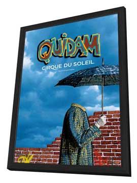 Cirque du Soleil - Quidam� - 11 x 17 Cirque du Soliel Poster - in Deluxe Wood Frame