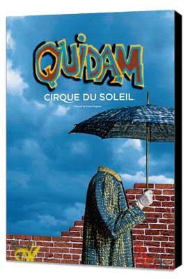 Cirque du Soleil - Quidam� - 11 x 17 Cirque du Soliel Poster - Museum Wrapped Canvas