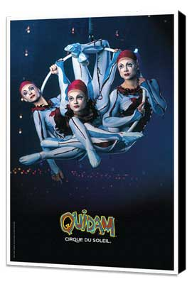 Cirque du Soleil - Quidam� - 11 x 17 Poster - Aerial Hoops - Museum Wrapped Canvas