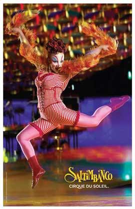 Cirque du Soleil - Saltimbanco� - 11 x 17 Poster - Baroques