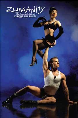 Cirque du Soleil - Zumanity� - Cirque du Soleil - Zumanity� - 24 x 36 Poster - Hand to Hand