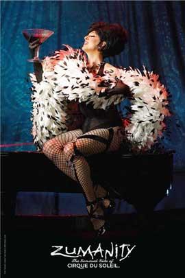 Cirque du Soleil - Zumanity� - Cirque du Soleil - Zumanity� - 24 x 36 Poster - Mistress of Sensuality