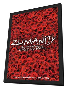 Cirque du Soleil - Zumanity� - 11 x 17 Cirque du Soliel Poster - in Deluxe Wood Frame