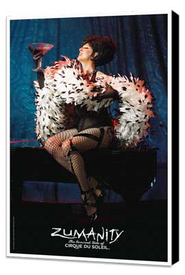 Cirque du Soleil - Zumanity� - 11 x 17 Poster - Mistress of Sensuality - Museum Wrapped Canvas