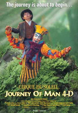 Cirque du Soleil: Journey of Man - 27 x 40 Movie Poster - Style A