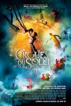 Cirque du Soleil: Worlds Away - 27 x 40 Movie Poster - Style B