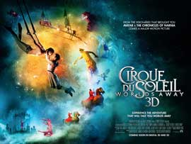 Cirque du Soleil: Worlds Away - 22 x 28 Movie Poster - Style A