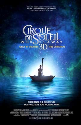 Cirque du Soleil: Worlds Away - DS 1 Sheet Movie Poster - Style A