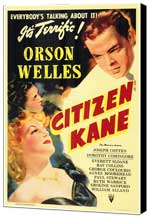 Citizen Kane - 27 x 40 Movie Poster - Style A - Museum Wrapped Canvas