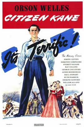 Citizen Kane - 11 x 17 Movie Poster - Style C