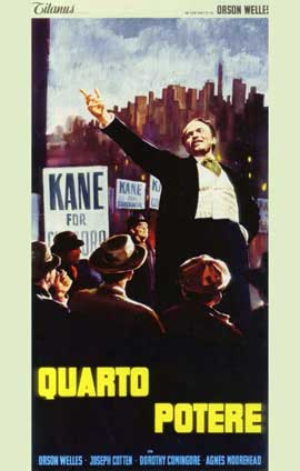Citizen Kane - 11 x 17 Movie Poster - Italian Style A
