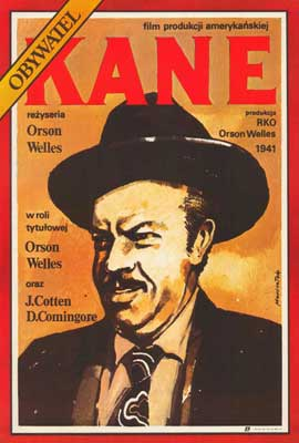 Citizen Kane - 27 x 40 Movie Poster - Polish Style A