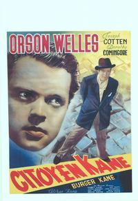 Citizen Kane - 14 x 22 Movie Poster - Belgian Style A