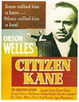 Citizen Kane - 11 x 17 Movie Poster - Style E