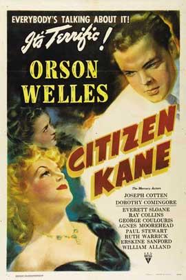 Citizen Kane - 11 x 17 Movie Poster - Style F