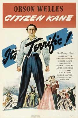 Citizen Kane - 11 x 17 Movie Poster - Style G