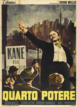 Citizen Kane - 11 x 17 Movie Poster - Italian Style B