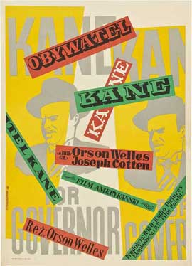 Citizen Kane - 11 x 17 Movie Poster - Polish Style B