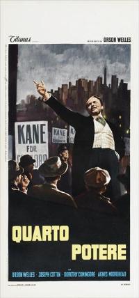 Citizen Kane - 13 x 28 Movie Poster - Italian Style A