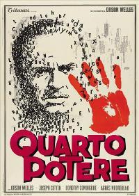 Citizen Kane - 27 x 40 Movie Poster - Italian Style C