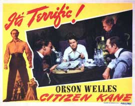 Citizen Kane - 22 x 28 Movie Poster - Half Sheet Style A