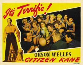 Citizen Kane - 22 x 28 Movie Poster - Half Sheet Style B