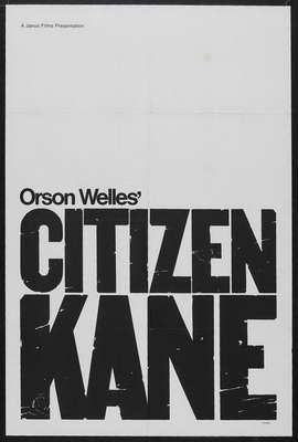 Citizen Kane - 27 x 40 Movie Poster - Style D