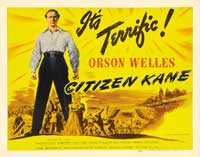 Citizen Kane - 22 x 28 Movie Poster - Half Sheet Style C