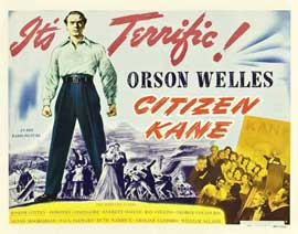 Citizen Kane - 22 x 28 Movie Poster - Half Sheet Style D