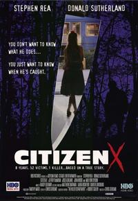Citizen X - 11 x 17 Movie Poster - Style A