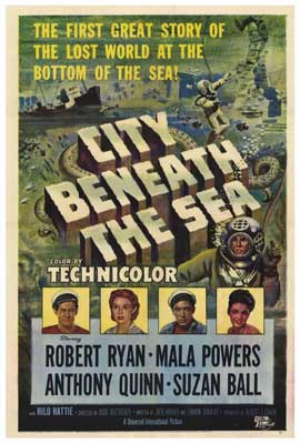 City Beneath the Sea - 27 x 40 Movie Poster - Style A