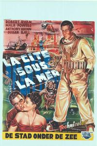 City Beneath the Sea - 14 x 22 Movie Poster - Belgian Style A