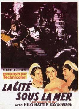 City Beneath the Sea - 11 x 17 Movie Poster - French Style A