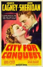City for Conquest - 27 x 40 Movie Poster - Style F