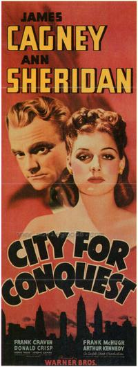 City for Conquest - 43 x 62 Movie Poster - Bus Shelter Style A