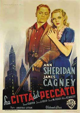 City for Conquest - 11 x 17 Movie Poster - Italian Style A