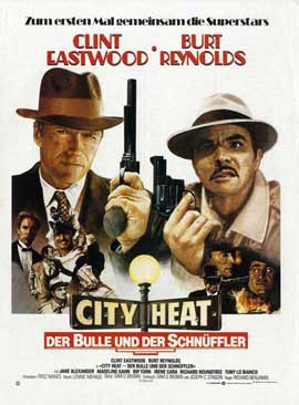 City Heat - 11 x 17 Movie Poster - German Style A