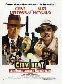 City Heat - 27 x 40 Movie Poster - German Style A
