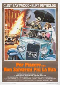 City Heat - 27 x 40 Movie Poster - Italian Style A