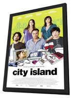 City Island - 11 x 17 Movie Poster - Style A - in Deluxe Wood Frame