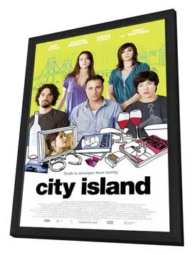 City Island - 27 x 40 Movie Poster - Style A - in Deluxe Wood Frame