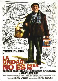 City Life Is Not for Me - 11 x 17 Movie Poster - Spanish Style A