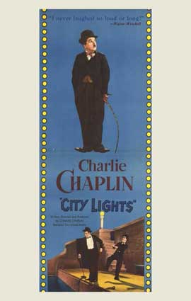 City Lights - 14 x 36 Movie Poster - Insert Style B