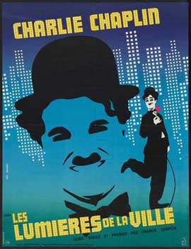 City Lights - 27 x 40 Movie Poster - French Style A
