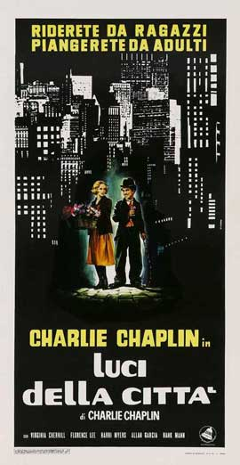 City Lights - 11 x 17 Movie Poster - Italian Style A