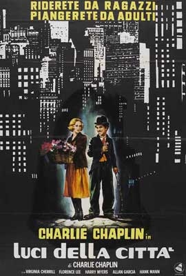 City Lights - 27 x 40 Movie Poster - Italian Style A