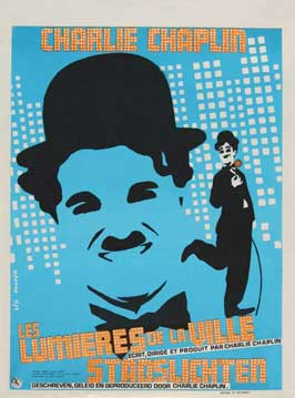 City Lights - 11 x 17 Movie Poster - Belgian Style B