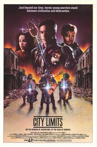 City Limits - 11 x 17 Movie Poster - Style B