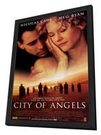 City of Angels - 27 x 40 Movie Poster - Style A - in Deluxe Wood Frame