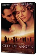 City of Angels - 27 x 40 Movie Poster - Style A - Museum Wrapped Canvas